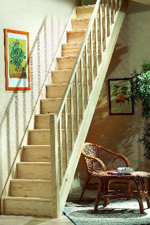 Прямые лестницы своими руками