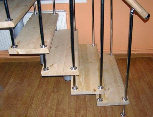Фурнитура для лестниц: виды и назначение