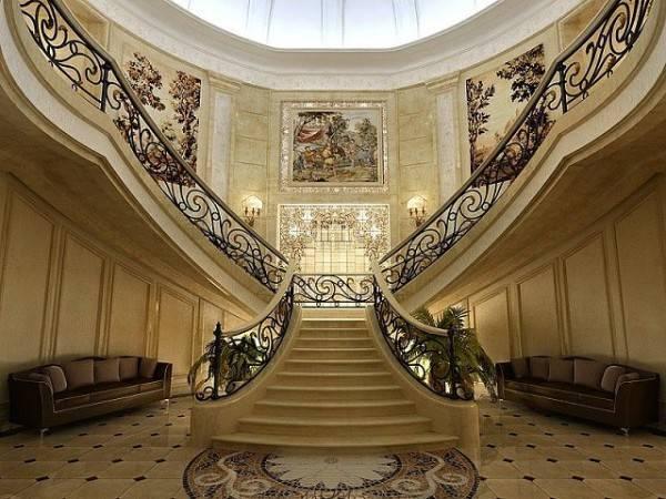 Бетонные лестницы широко распространены и привычны.