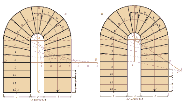 Два способа расчёта забежных лестниц