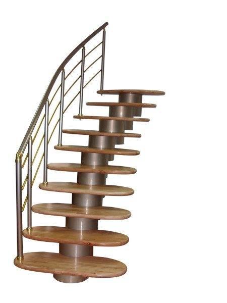 Фото – модульная лестница.