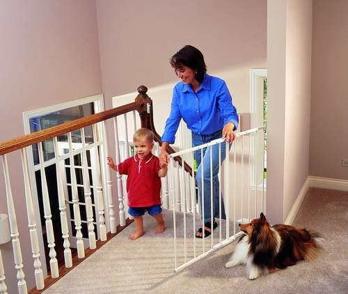 259Ограждение на лестницу от ребенка своими руками