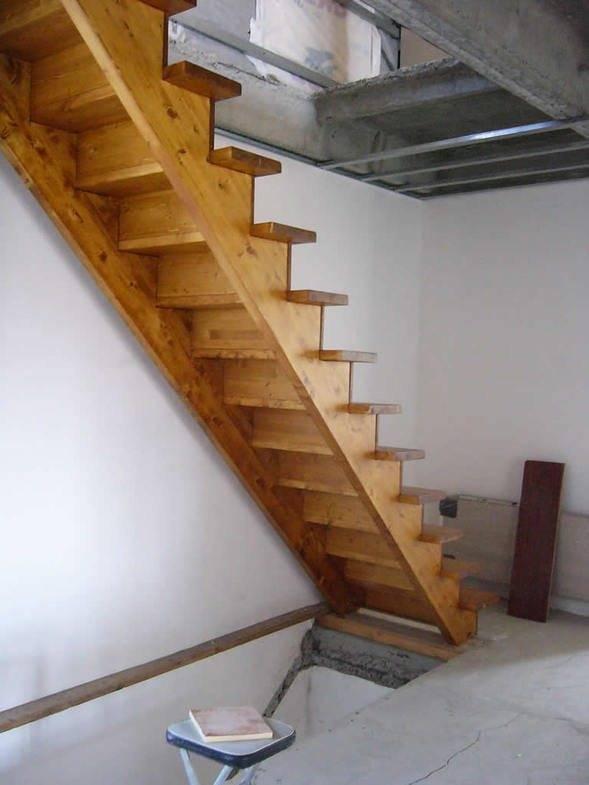 лестница закрытая на второй этаж фото