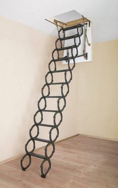 Раскладная лестница – экономим полезное пространство