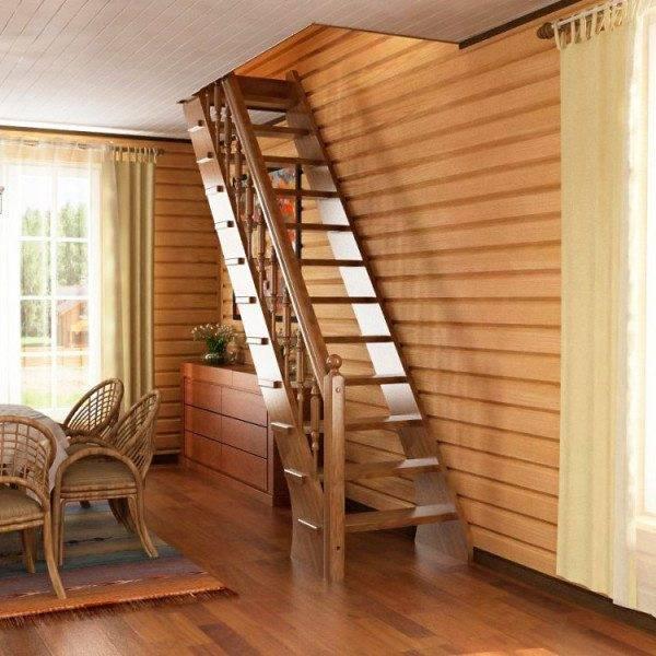 Фото приставной лестницы.
