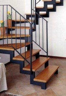 Лестница из профтрубы на второй этаж своими руками