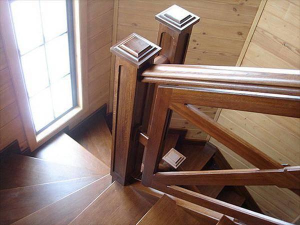 Конструкция из твердых пород древесины