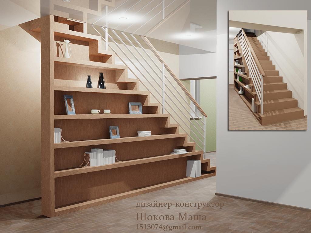 Оригинальные лестницы на второй этаж своими руками