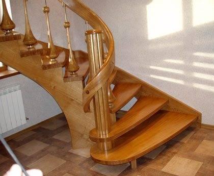 Лестница в доме фото своими руками