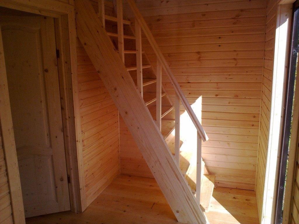 Простые лестницы на второй этаж своими руками в частном доме фото 33