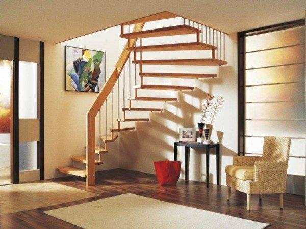 Лестница в квартире: от монументальности до минимализма