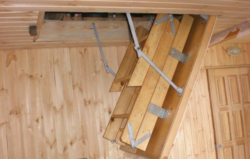 Лестница чердак своими руками