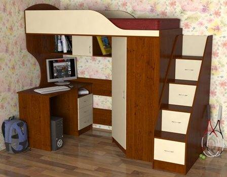 Лестница для кровати чердака отдельно