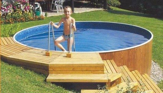 Как сделать лестницу для бассейна