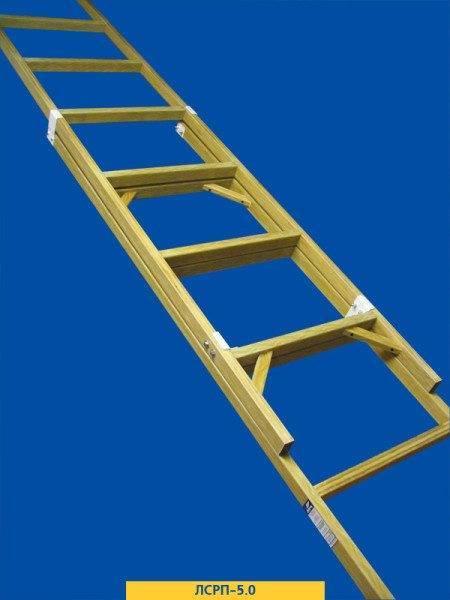 Монтажная лестница: навесные, приставные и составные конструкции (фото и видео) - Своими руками
