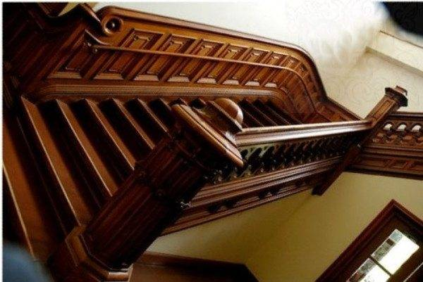 Ограждение определяет общую красоту лестницы