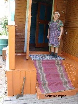 Особо большое значение надёжное крыльцо имеет для пожилых людей