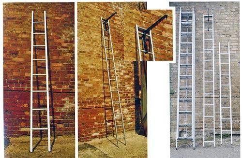 Переносные типы лестниц разной ширины