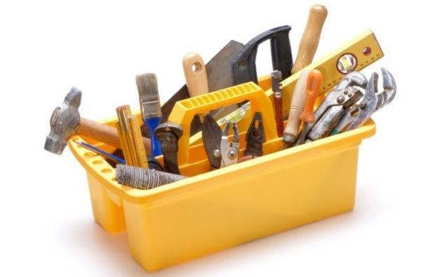 Подбор инструмента необходимого для работы