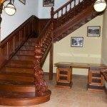 Пример деревянной лестницы