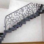 Пример металлической лестницы