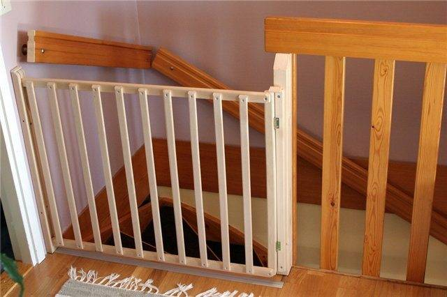Ворота безопасности детские своими руками