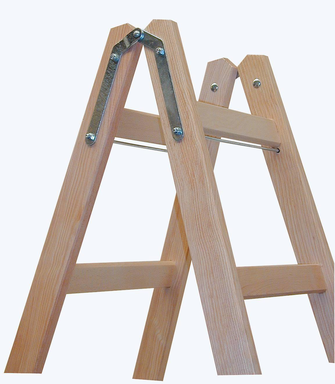 Деревянная стремянка лестница своими руками