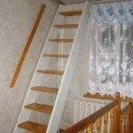 Стационарная лестница на чердак