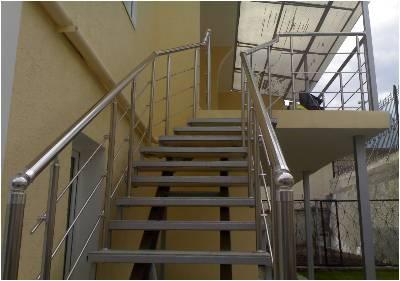 Стальное ограждение для лестницы