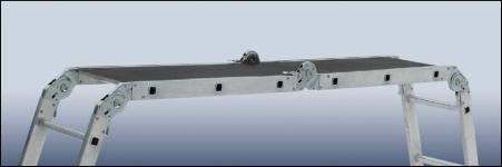 Стремянка-трансформер – легко превращается в «козлы»