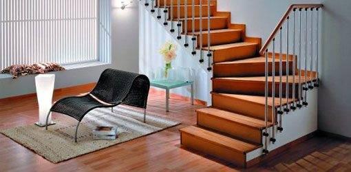 Такая лестница украсит ваш интерьер.
