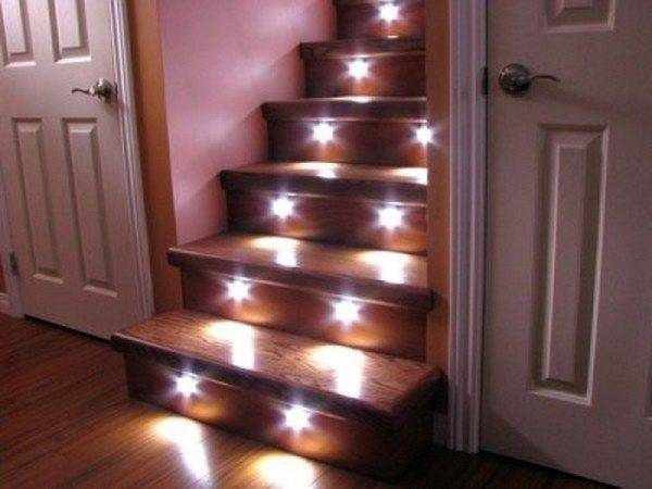 Точечные светильники в действии