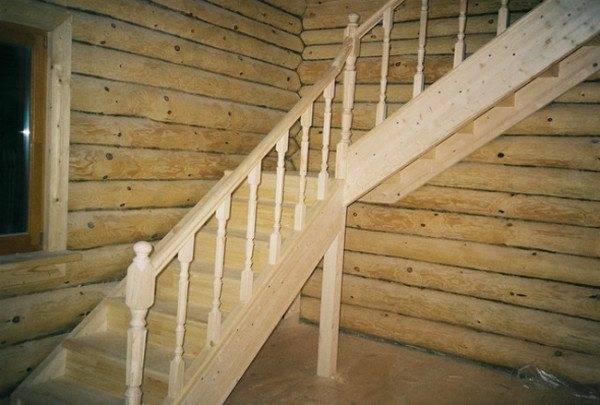 Цена деревянной маршевой лестницы наиболее приемлема .