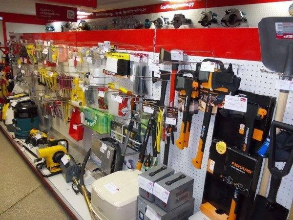 У вас должны быть все нужные инструменты для работы.