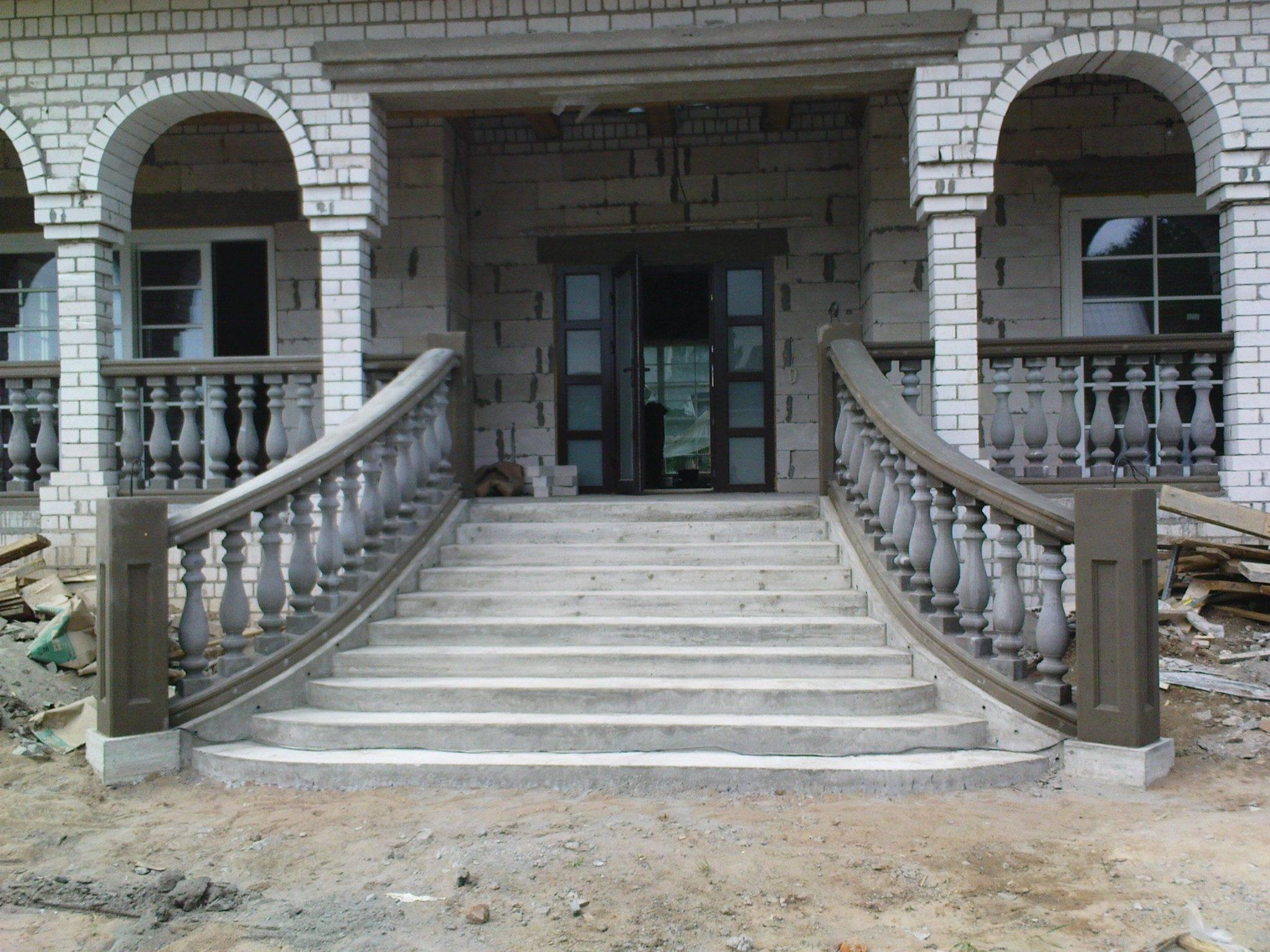 Фасадные лестницы