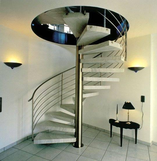 Самостоятельная установка винтовой лестницы