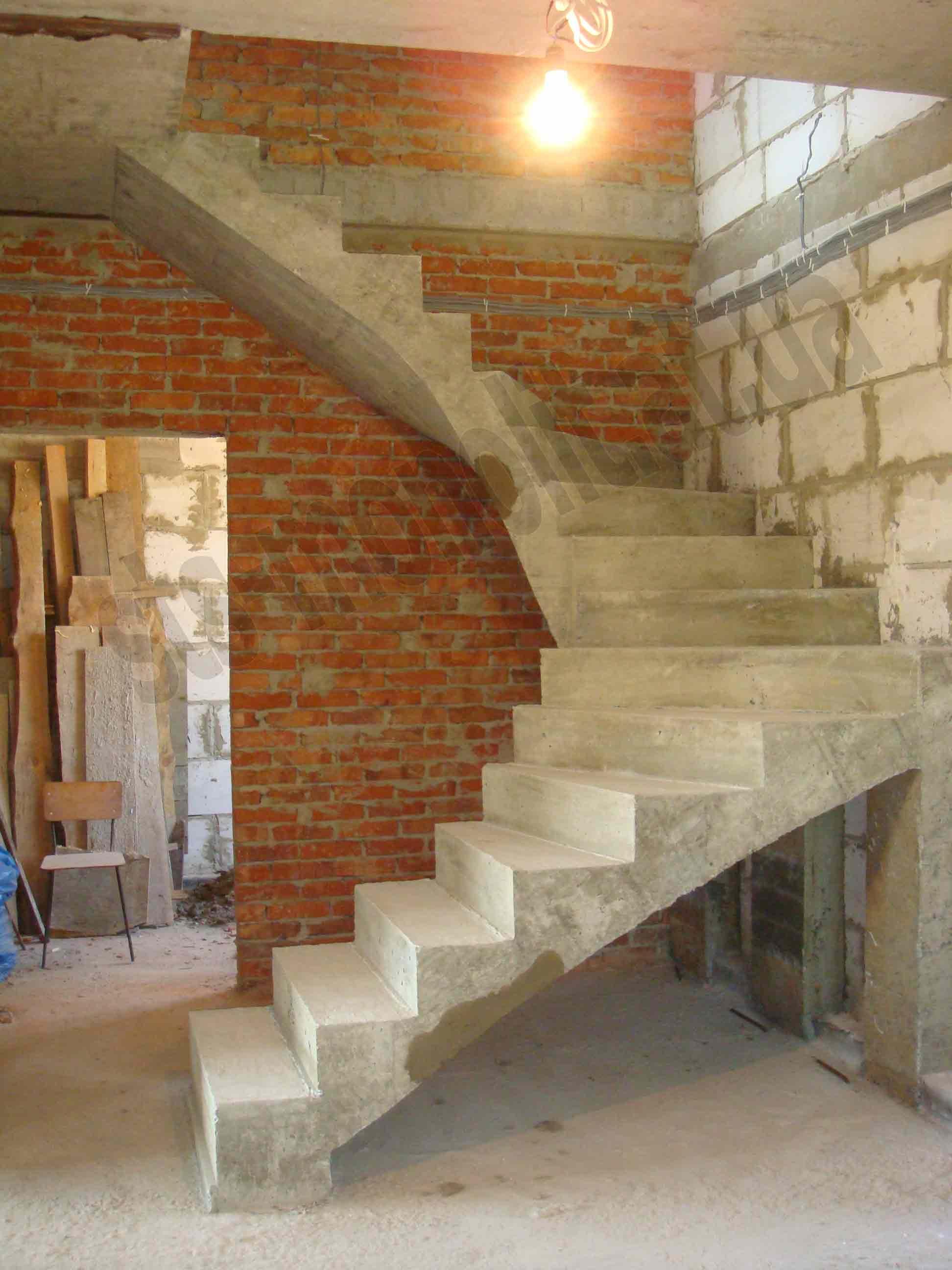 инструкция по подготовке и монтажу монолитной лестницы
