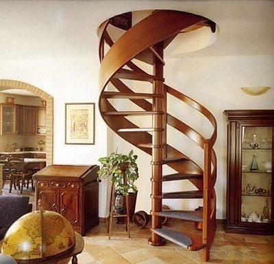 Винтовая (спиральная) лестница
