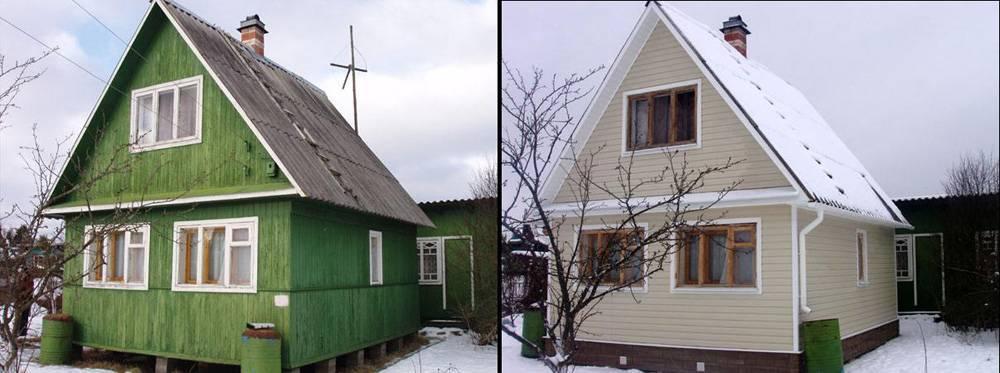 Дешевая облицовка фасада