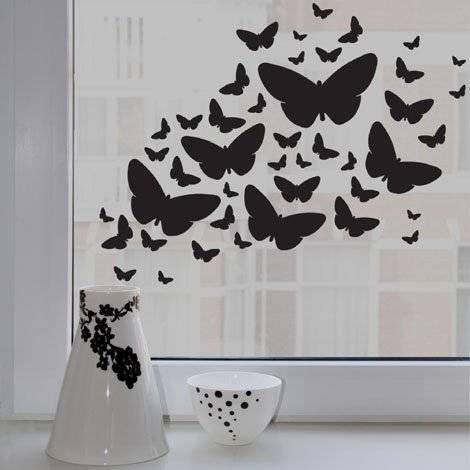 Бабочки на стену своими руками: 10 интересных идей
