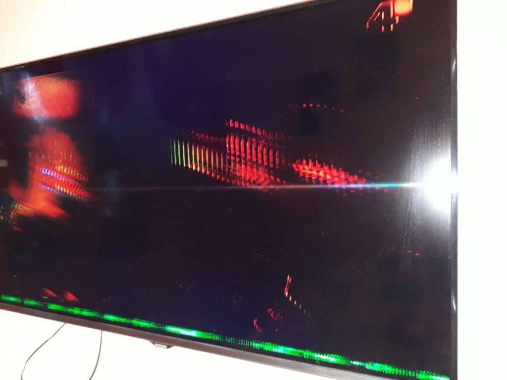 Жк телевизор звук есть картинки нет