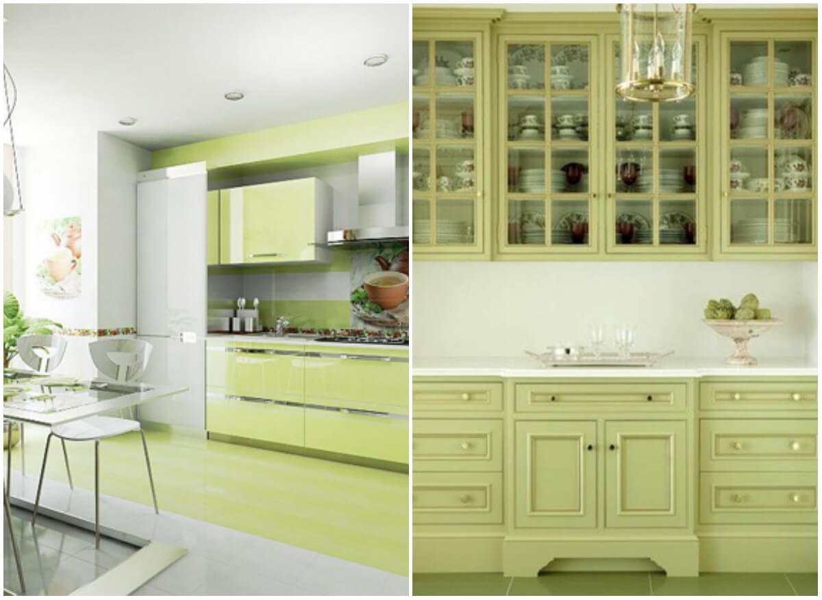 то, что смотреть фото кухонь в цвете олива кремовый находится