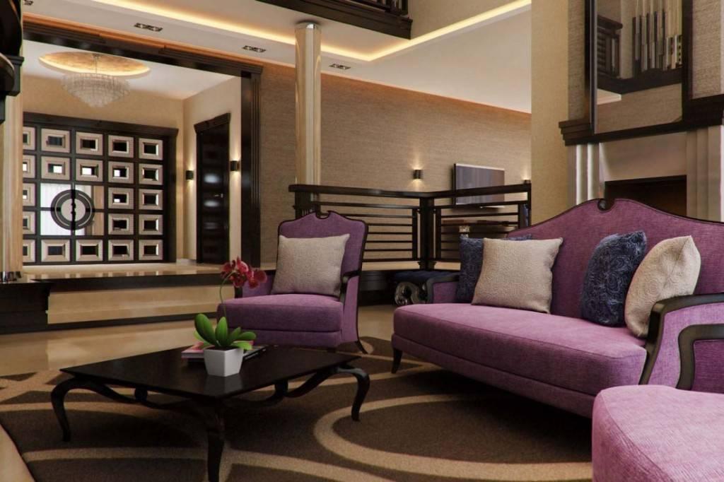 Бежево-коричневая гостиная – неувядающая классика
