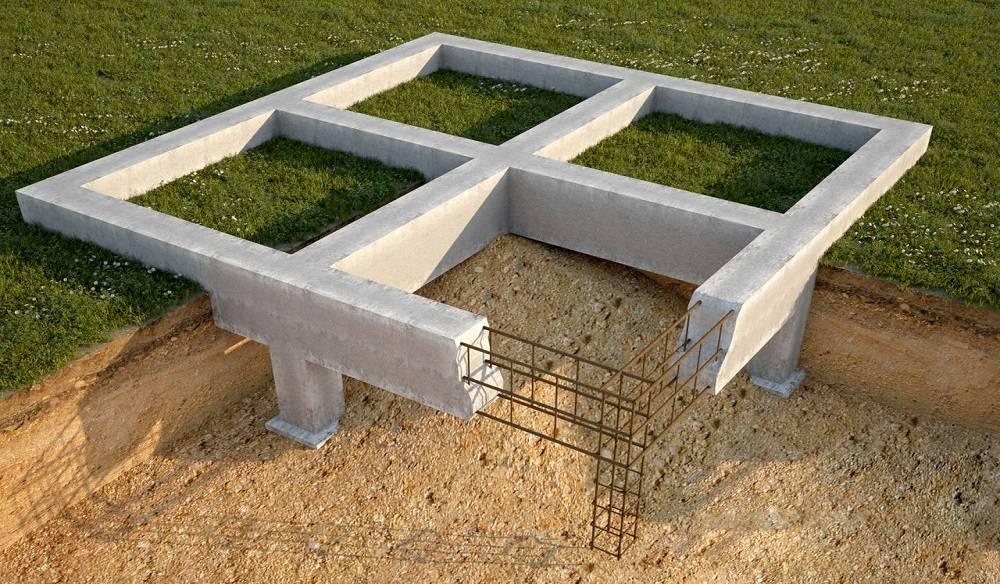 Столбчатый фундамент: виды и строительство