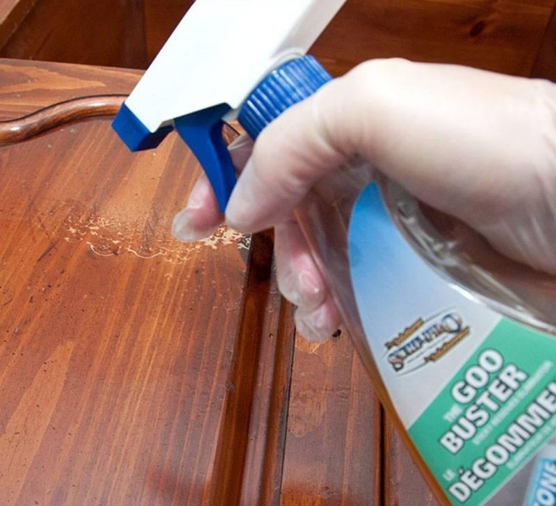 Чем отмыть клей от скотча