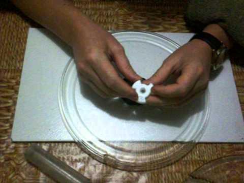 Почему не крутится тарелка в микроволновке?