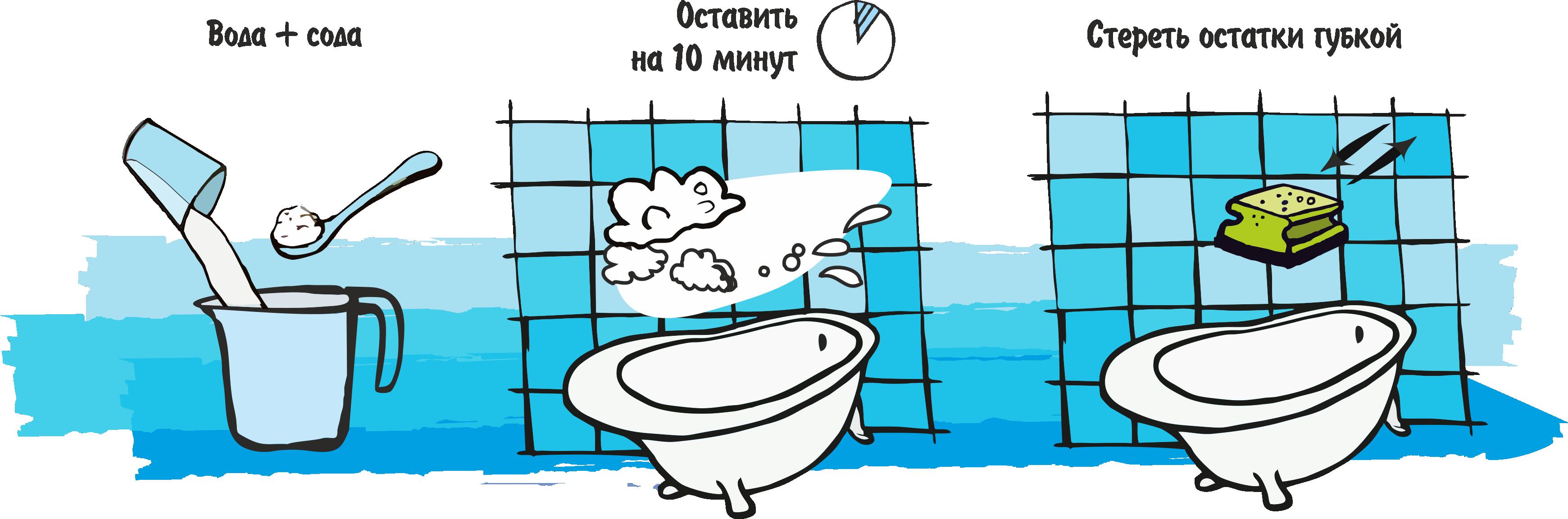 Как быстро почистить швы между плиткой в ванной в домашних условиях?