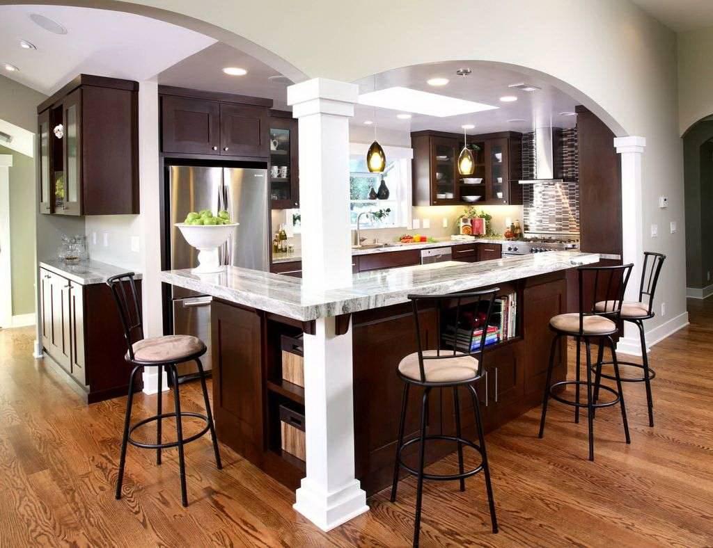 этот картинки барных стоек на кухне изготовления манка