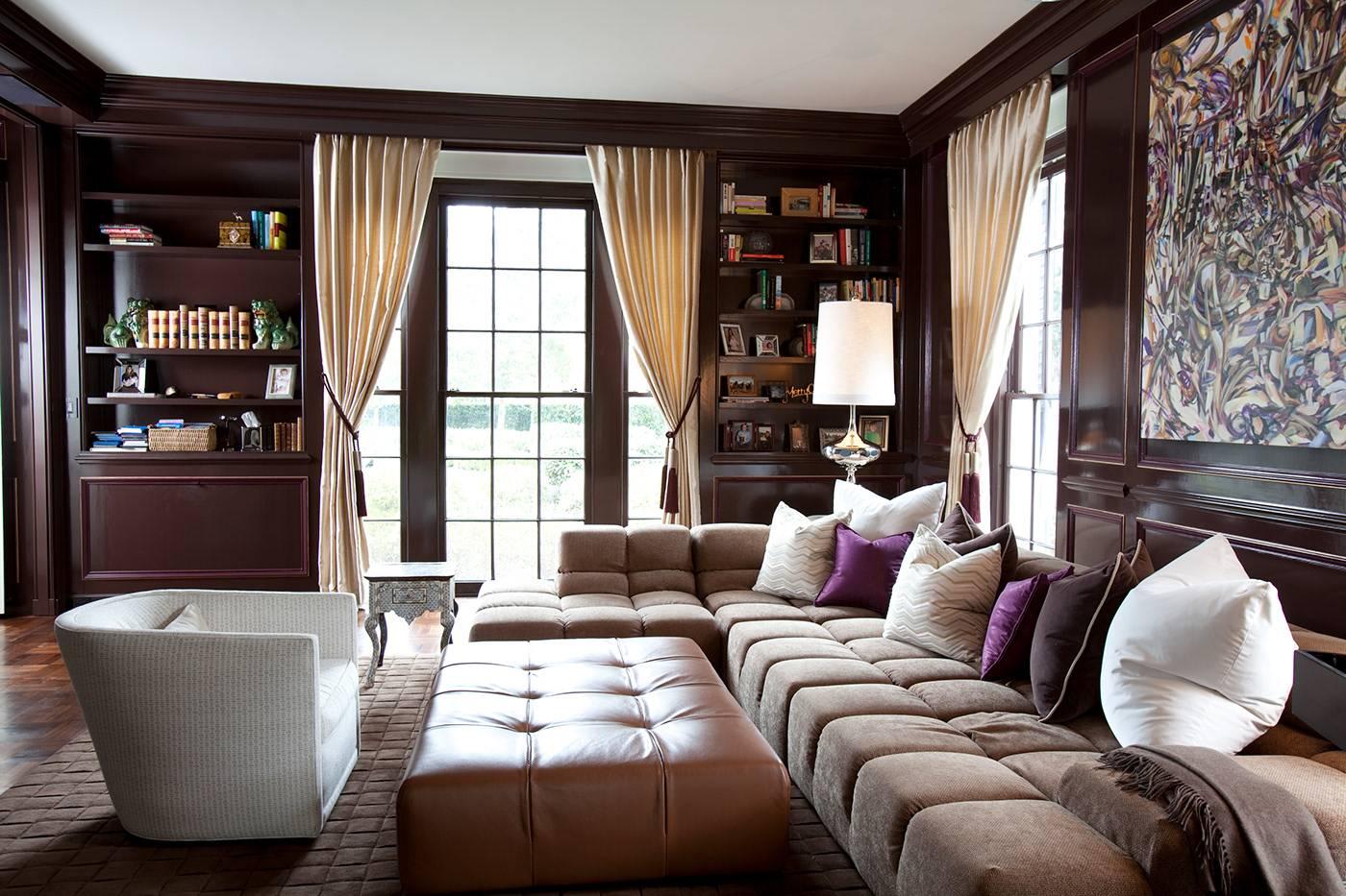 Серая гостиная – цветовые сочетания, многообразие оттенков и подбор стильных украшений интерьера (90 фото)