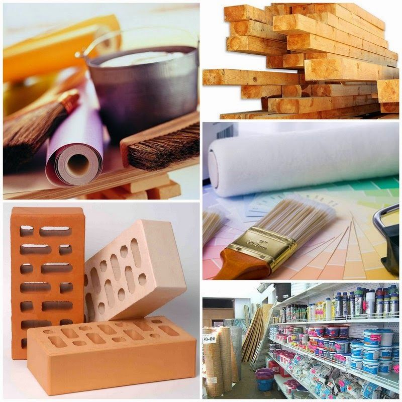 Все о строительных материалах в картинках